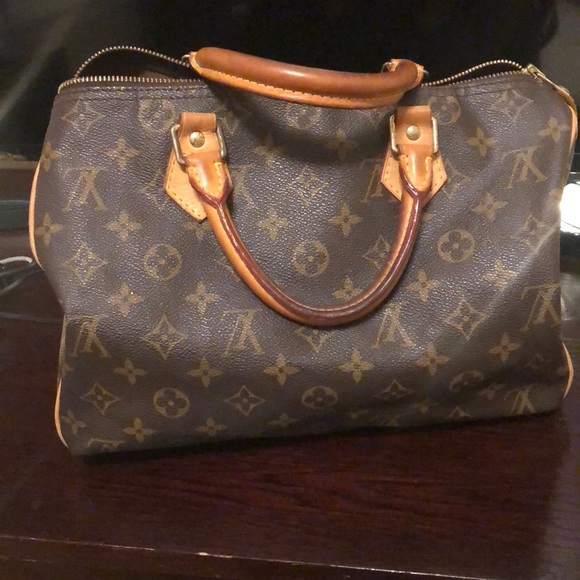 Used Louis Vuitton Bags >> Used Louis Vuitton Speedy 30